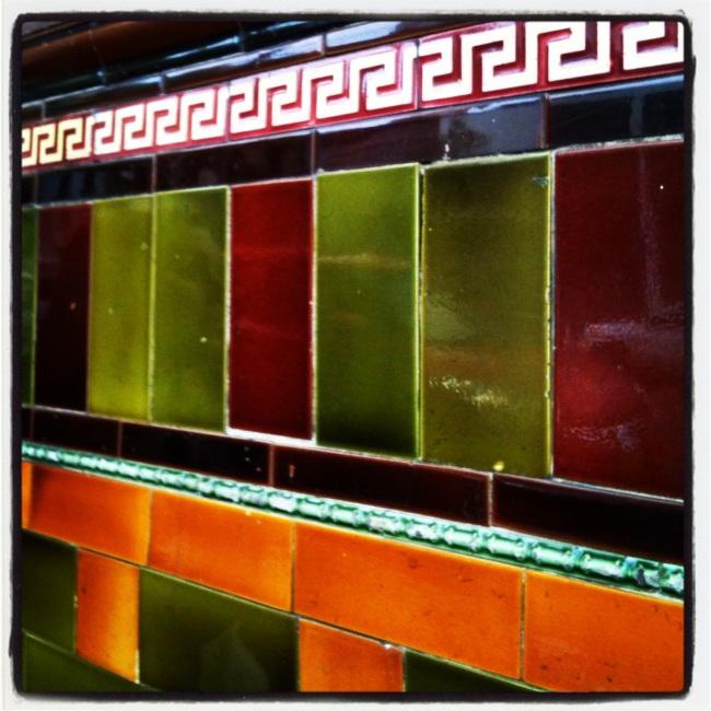 Tactile, textural....tiles